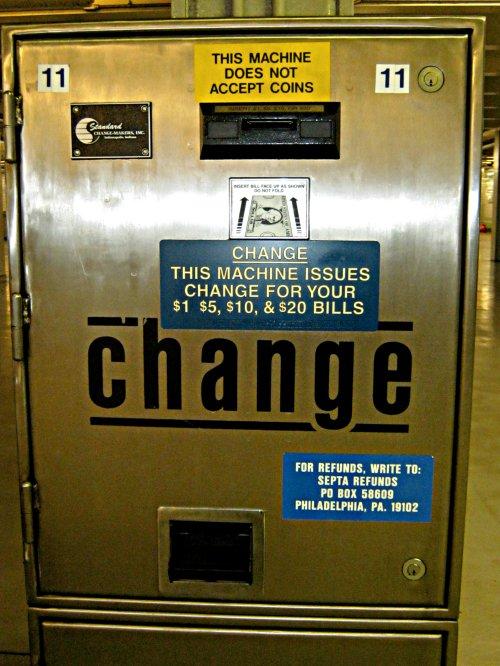 publix change machine