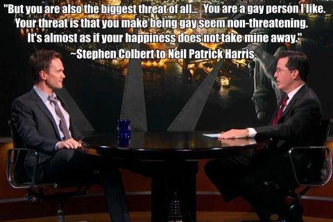 Colbert and NPH