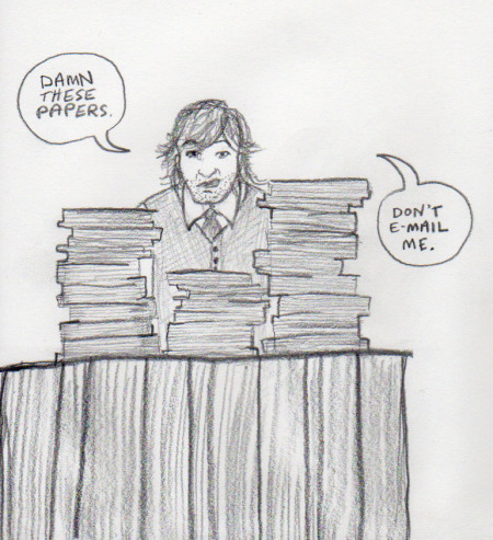 "Cartoon from ""What I Am Not Supposed to Say About Literary Journals Until I am Famous"""