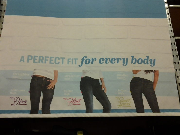 Thank you, Old Navy, for leaving no stone unturned in your effort to honor all body types.