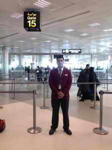 Getting stranded in Qatar provided the year's first story.