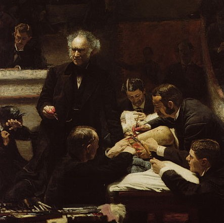 "Medicine has changed since Thomas Eakins painted ""The Gross Clinic"" in 1875. Right?"