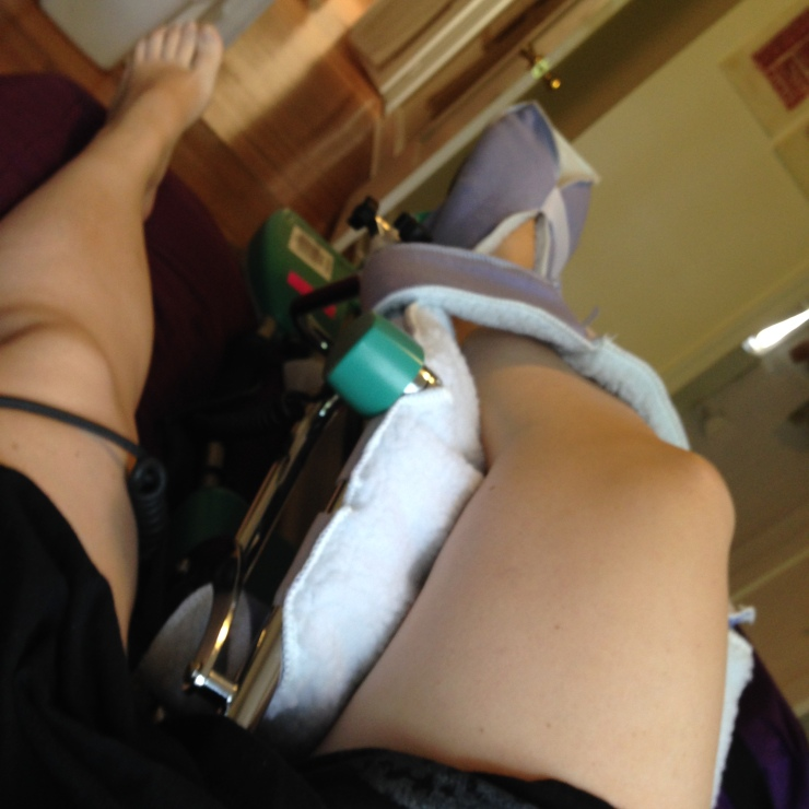 Where have I been? In bed, learning to use my totally revamped hip.